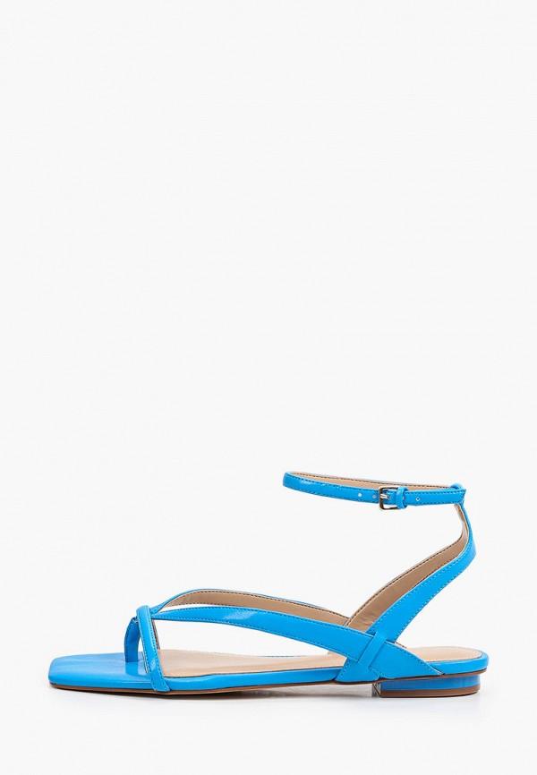 женские сандалии aldo, голубые