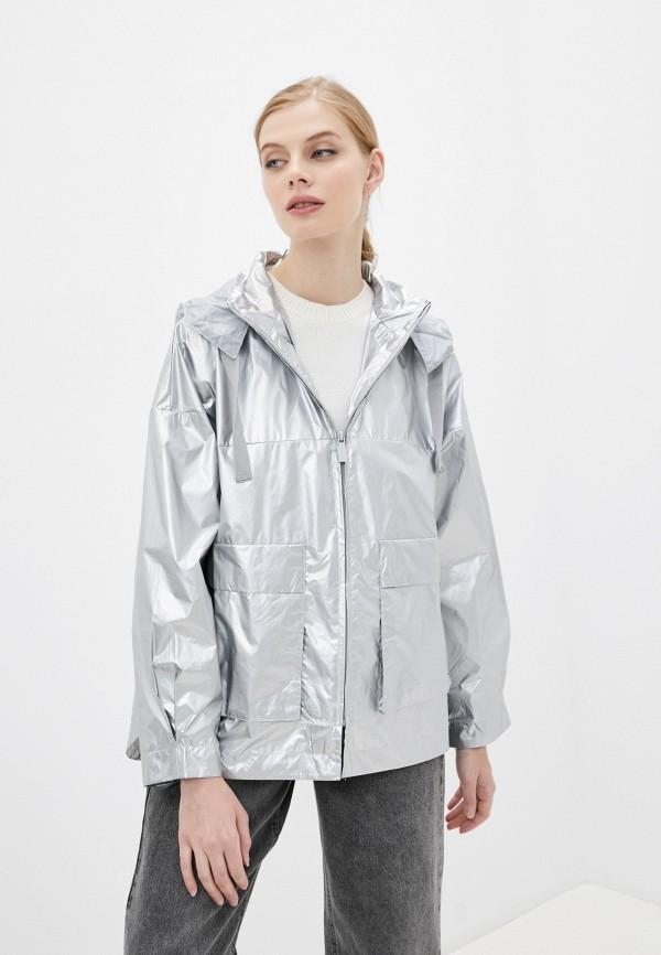 женская легкие куртка tantra, серебряная