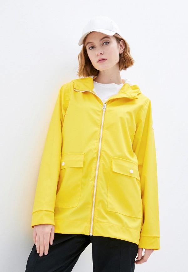 женский плащ regatta, желтый