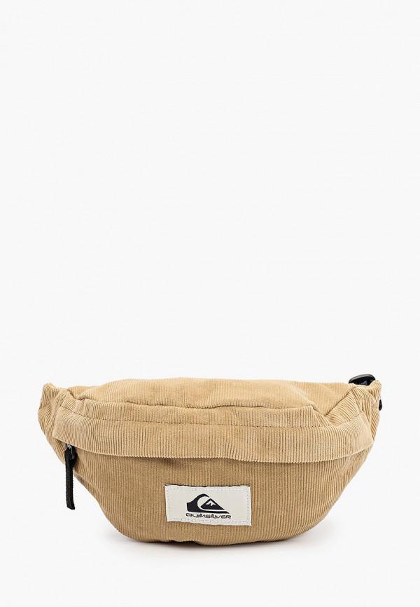 мужская сумка quiksilver, бежевая