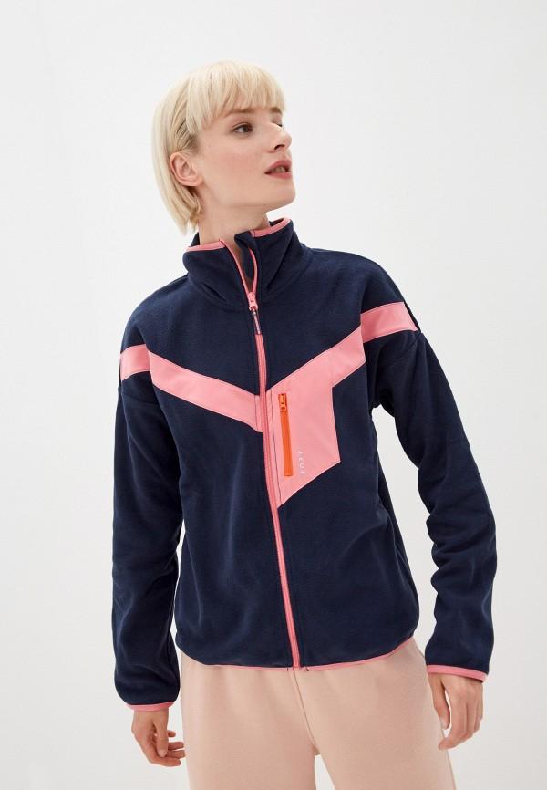 женская олимпийка roxy, синяя