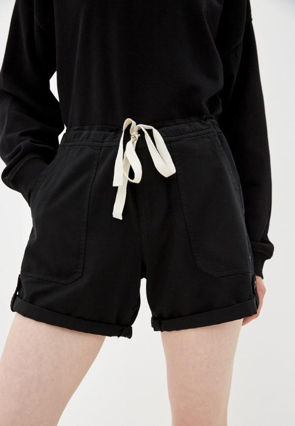 женские шорты roxy, черные