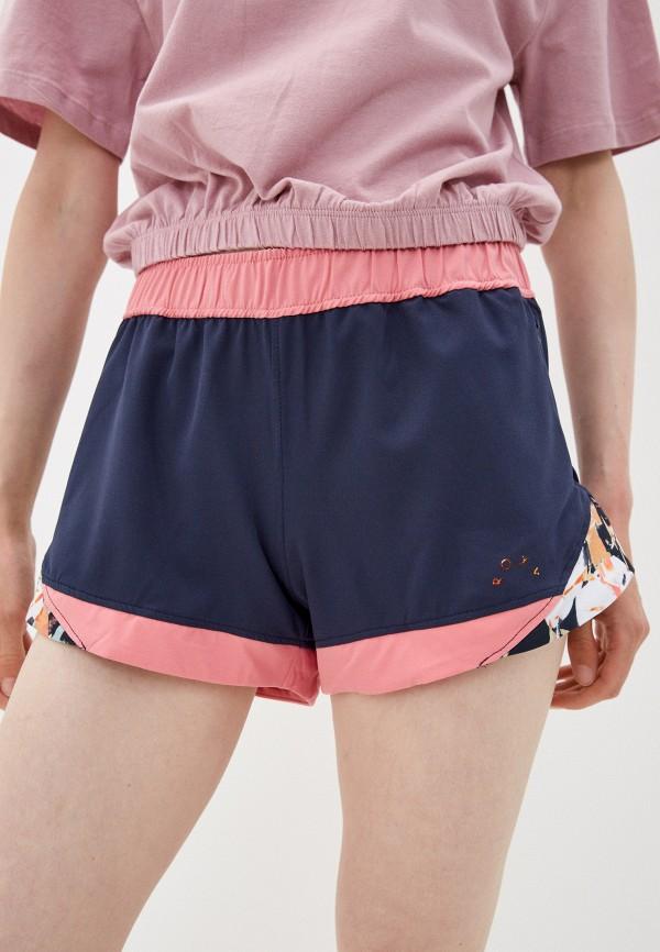 женские спортивные шорты roxy, синие