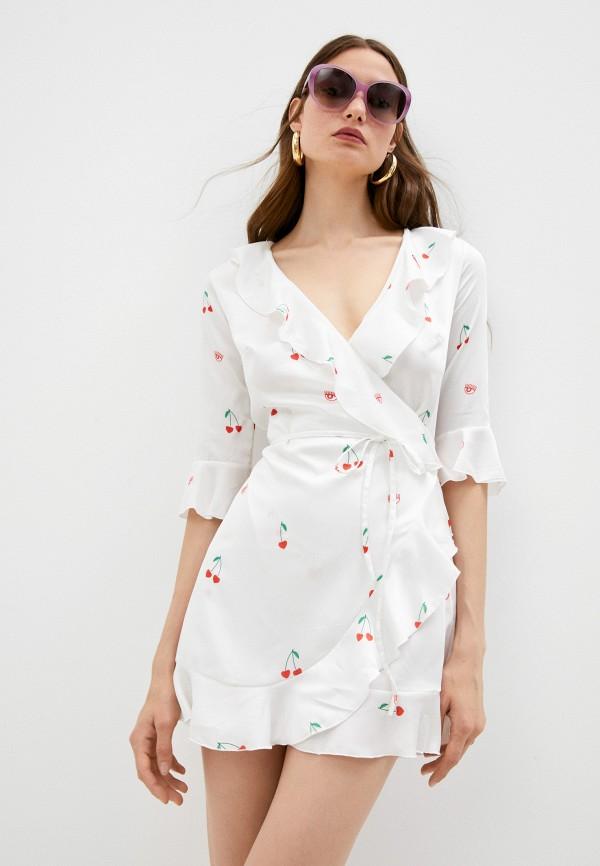 женское платье chiara ferragni collection, белое