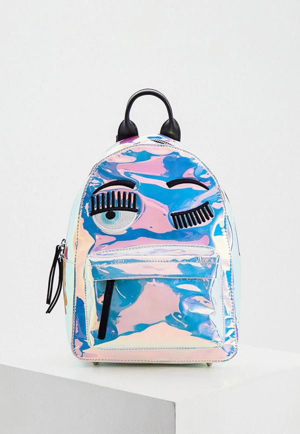 женский рюкзак chiara ferragni collection, разноцветный