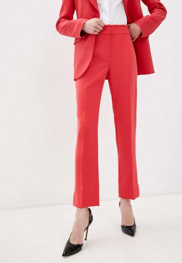 женские повседневные брюки emporio armani, красные