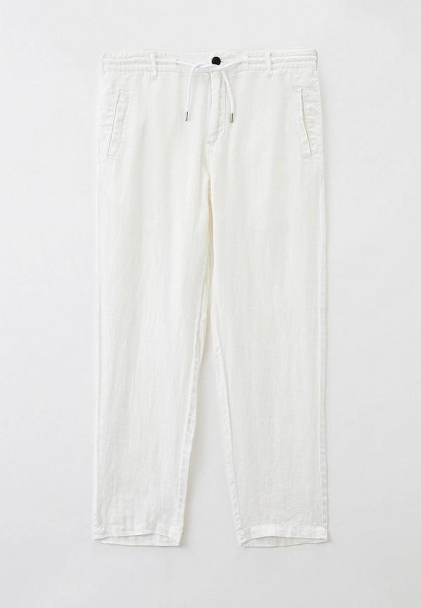 мужские повседневные брюки emporio armani, белые