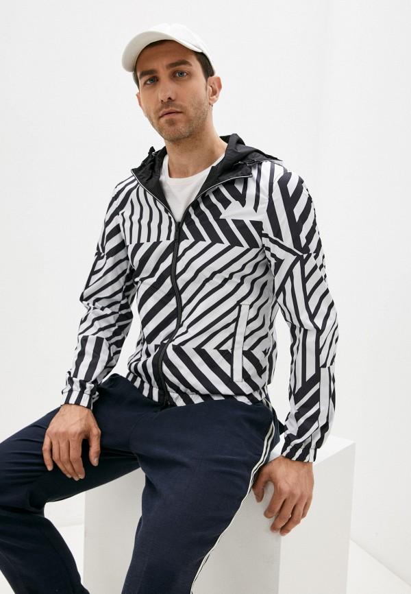 мужская куртка emporio armani, белая