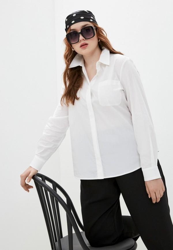 женская рубашка emporio armani, белая