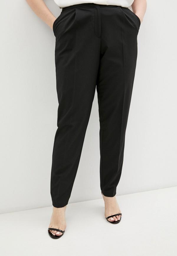 женские классические брюки emporio armani, черные