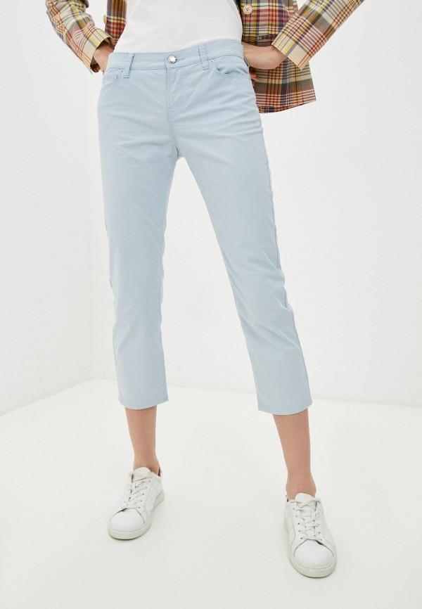 женские джинсы emporio armani, голубые