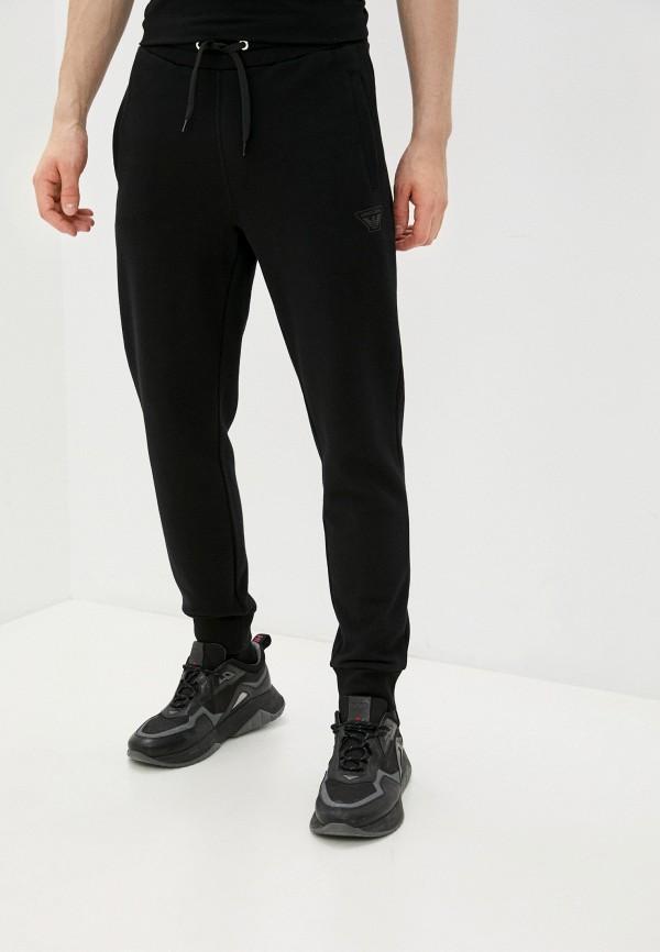 мужские спортивные брюки armani jeans, черные