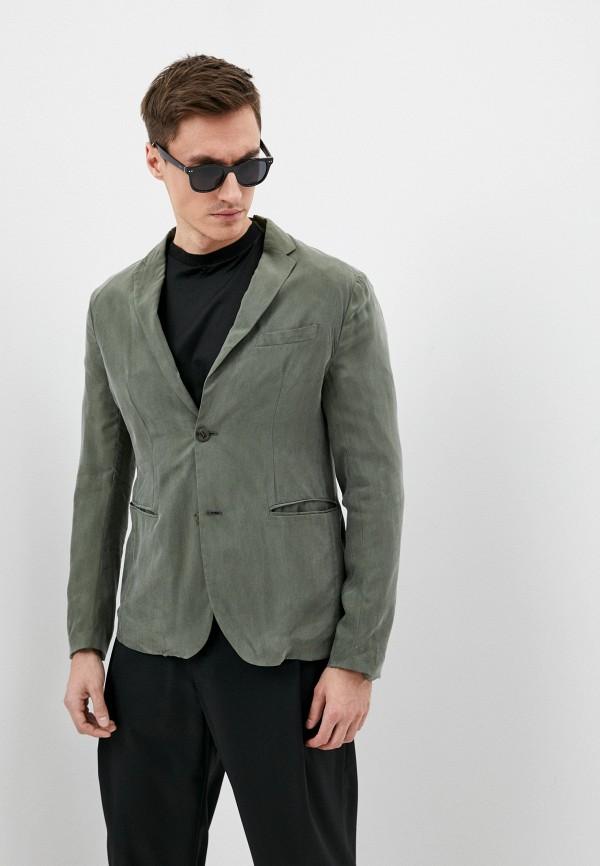 мужской пиджак emporio armani, хаки