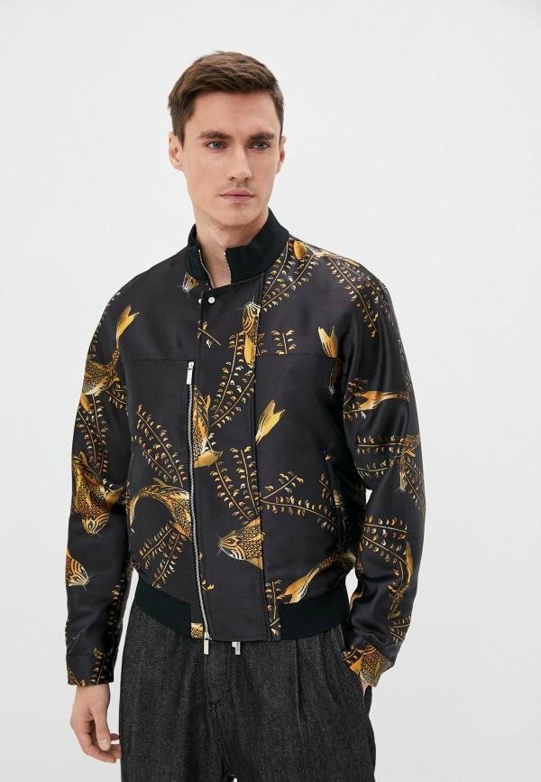 мужская куртка emporio armani, черная