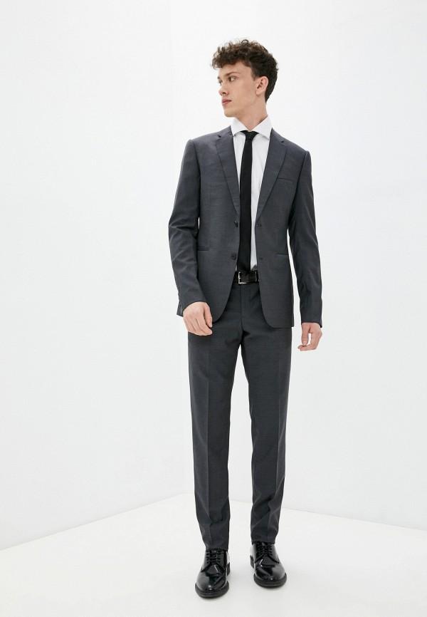 мужской классические костюм emporio armani, серый
