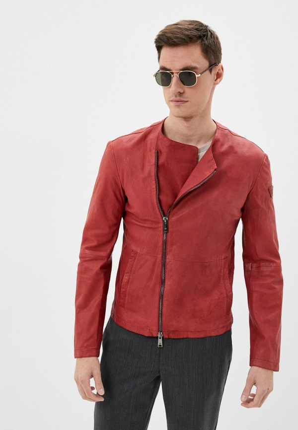мужская куртка emporio armani, красная