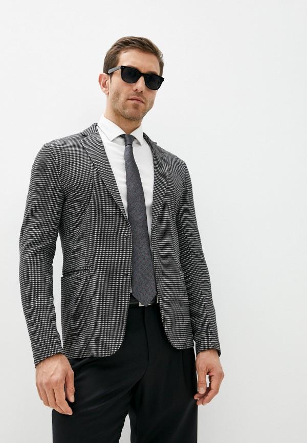 мужской пиджак emporio armani, разноцветный