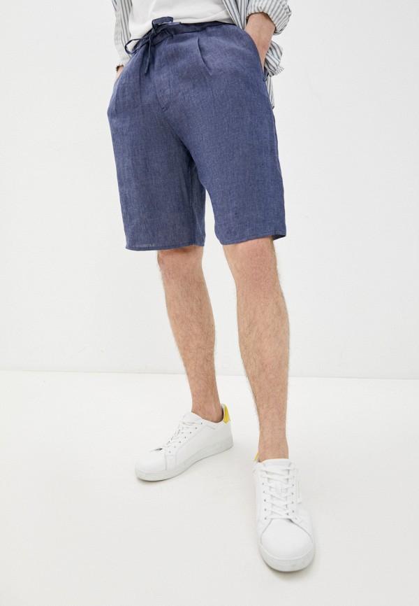 мужские повседневные шорты emporio armani, синие