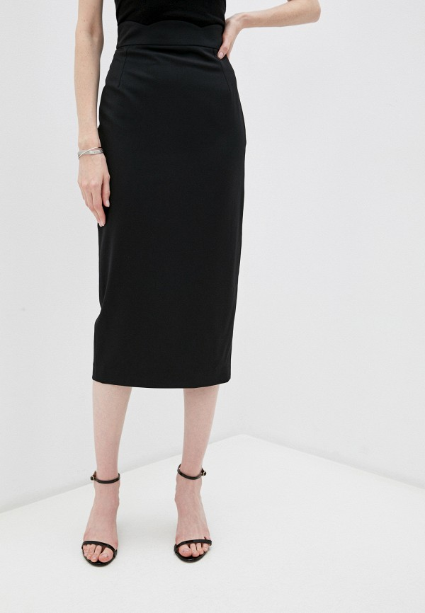 женская узкие юбка emporio armani, черная