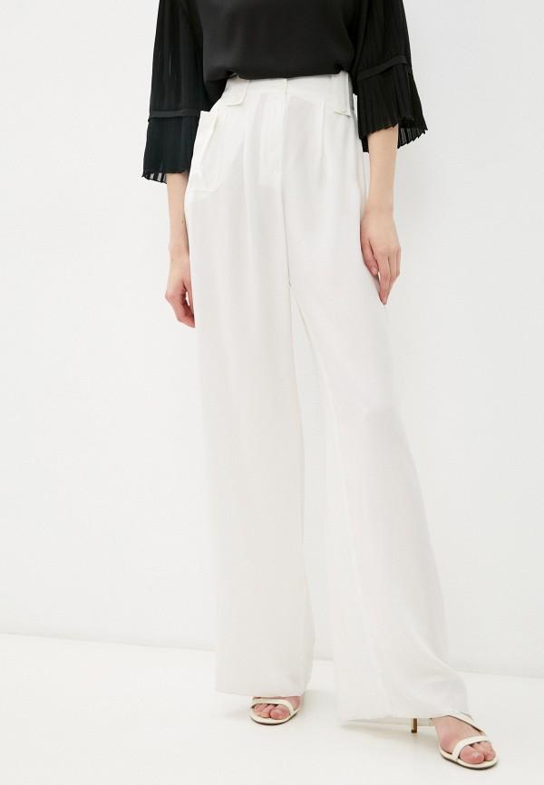 женские повседневные брюки emporio armani, белые