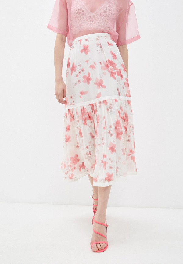 женская юбка-трапеции emporio armani, разноцветная