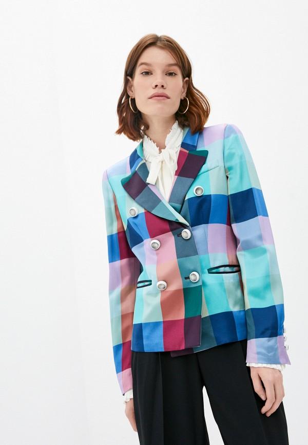 женский пиджак emporio armani, разноцветный