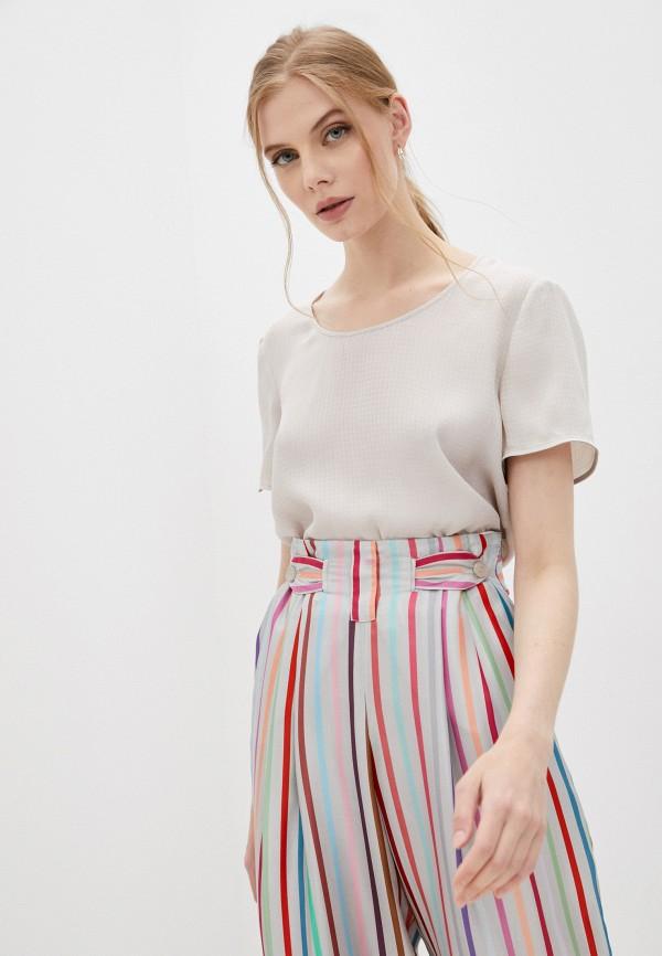 женская блузка emporio armani, серая