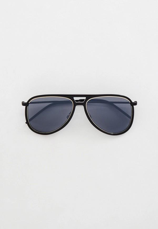 Очки солнцезащитные Saint Laurent черного цвета