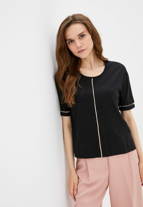 женская футболка betty barclay, серебряная