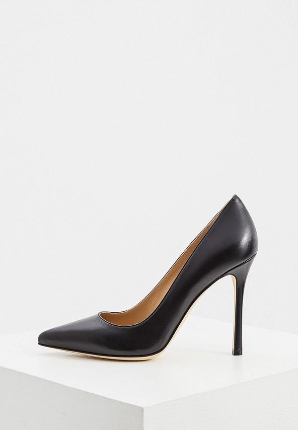 женские туфли-лодочки sergio rossi, черные