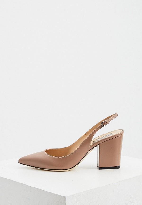женские туфли sergio rossi, коричневые