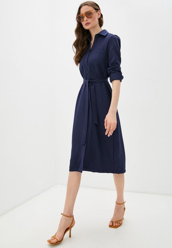 женское платье francesca peretti, синее