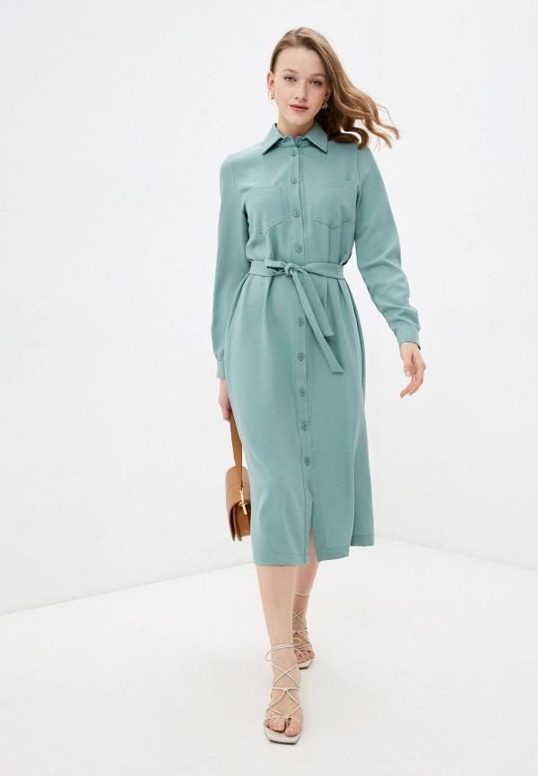 женское платье francesca peretti, бирюзовое
