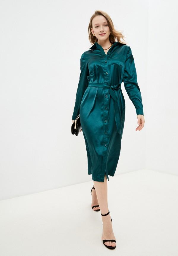 женское платье francesca peretti, зеленое