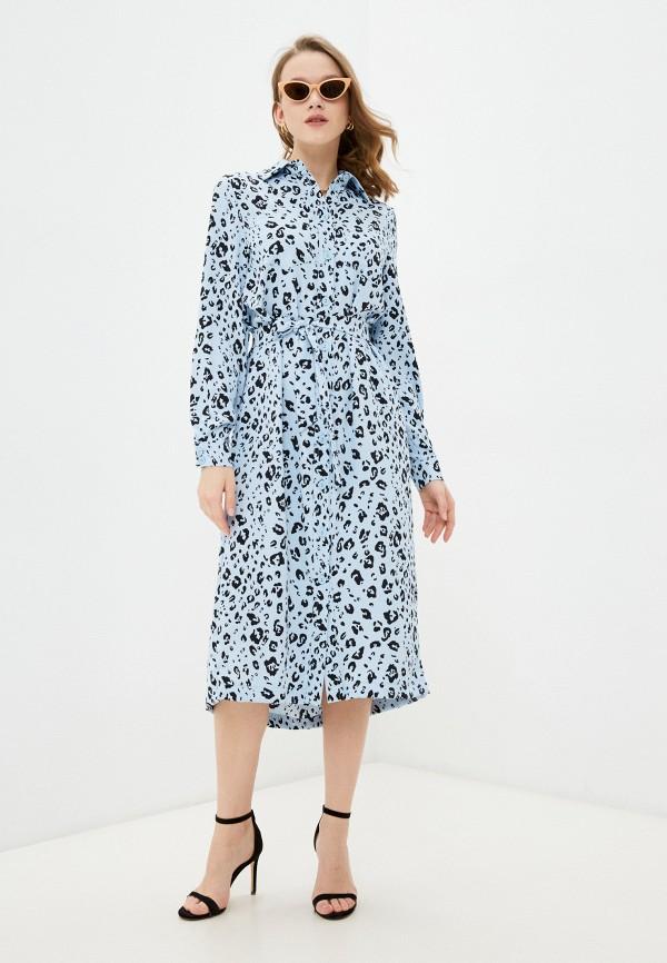 женское платье francesca peretti, голубое
