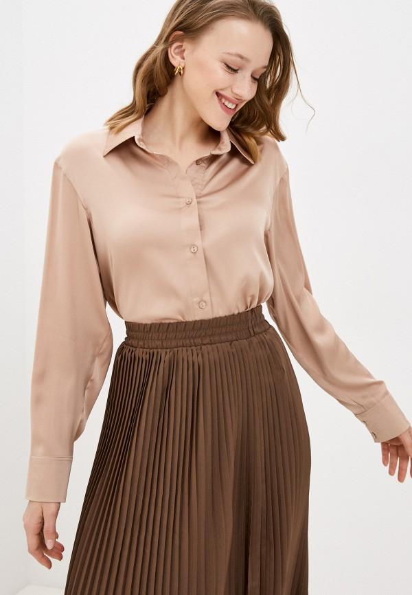 женская блузка francesca peretti, бежевая