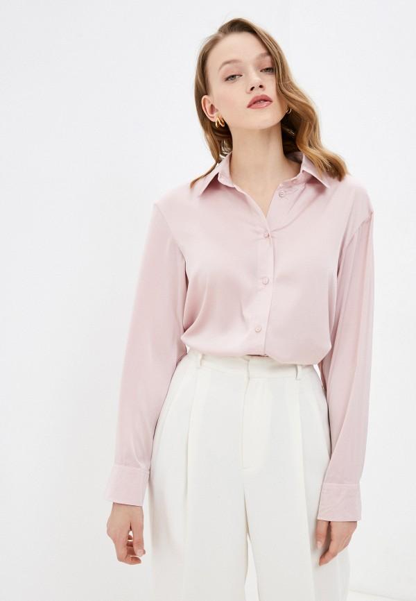 женская блузка francesca peretti, розовая