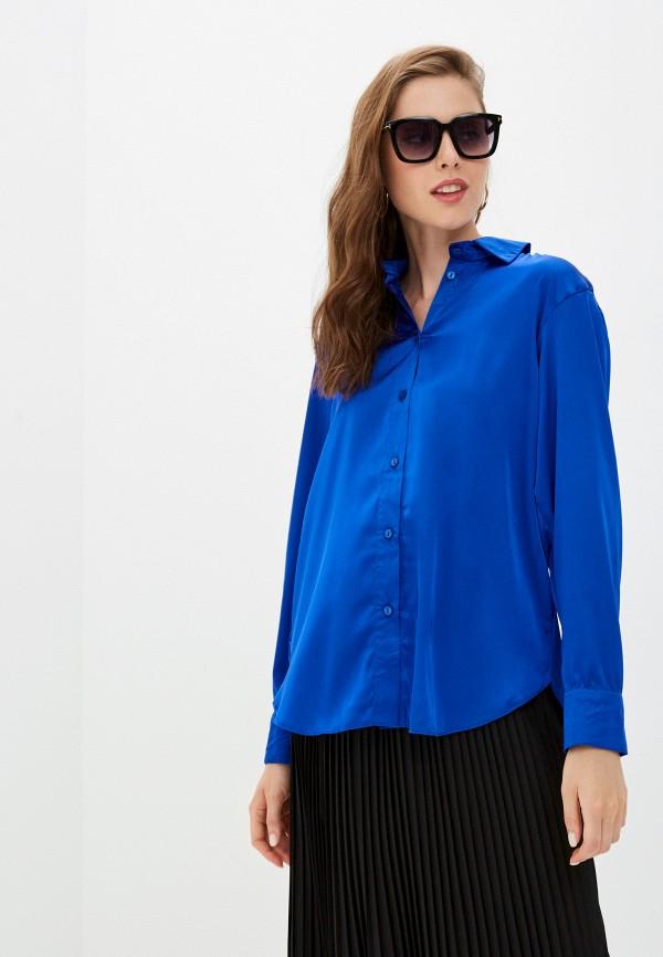 женская блузка francesca peretti, синяя