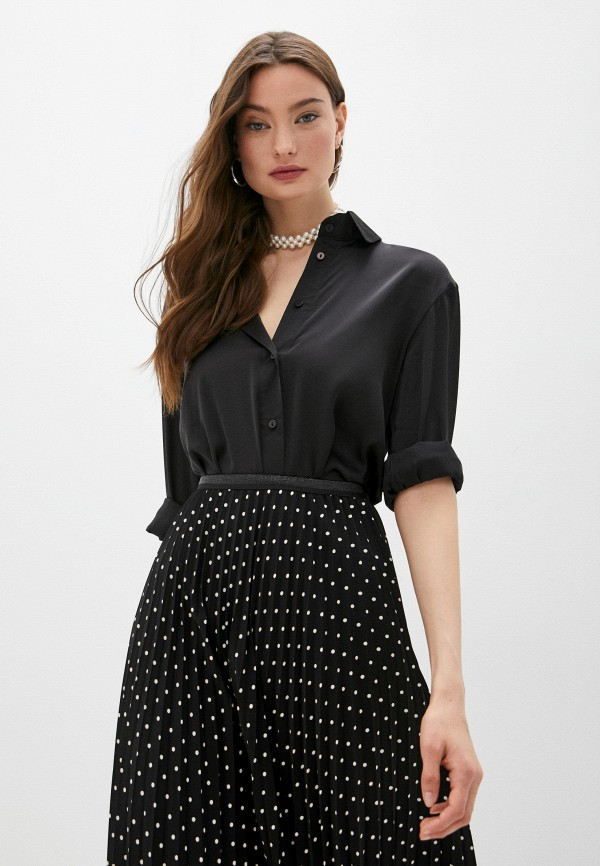 женская блузка francesca peretti, черная