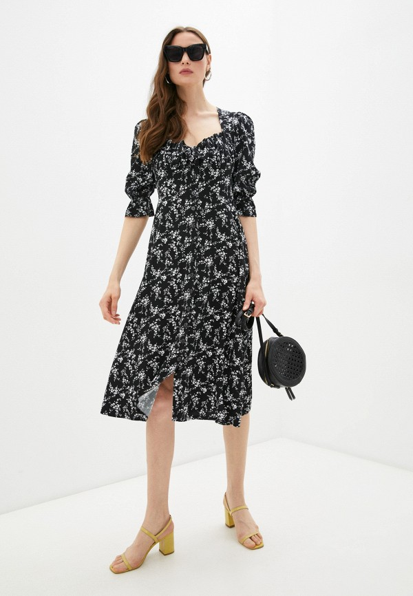женское повседневные платье francesca peretti, черное