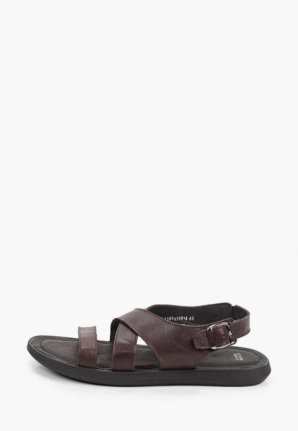 мужские сандалии vittorio bravo, коричневые