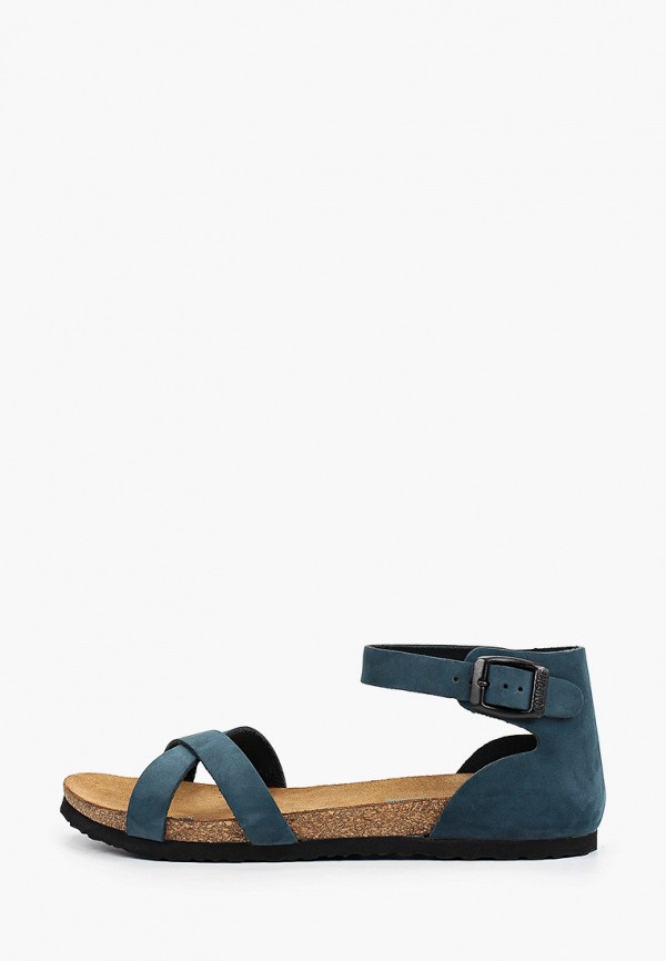 женские сандалии d.moro, синие