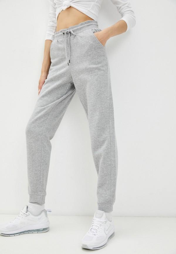 женские спортивные брюки brave soul, серые