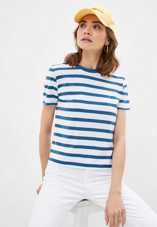 женская футболка brave soul, синяя