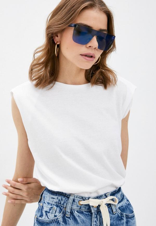 женская футболка brave soul, белая