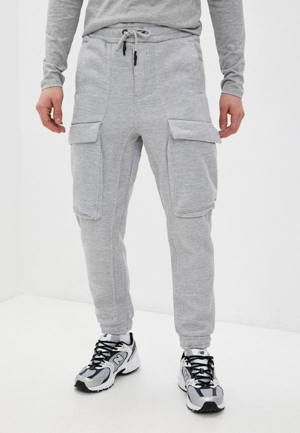 мужские спортивные брюки brave soul, серые