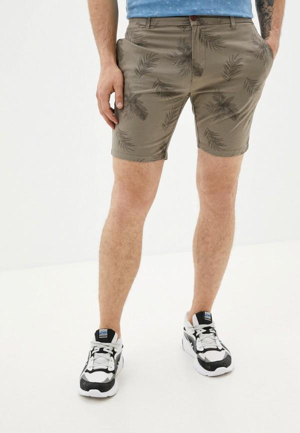 мужские повседневные шорты brave soul, коричневые