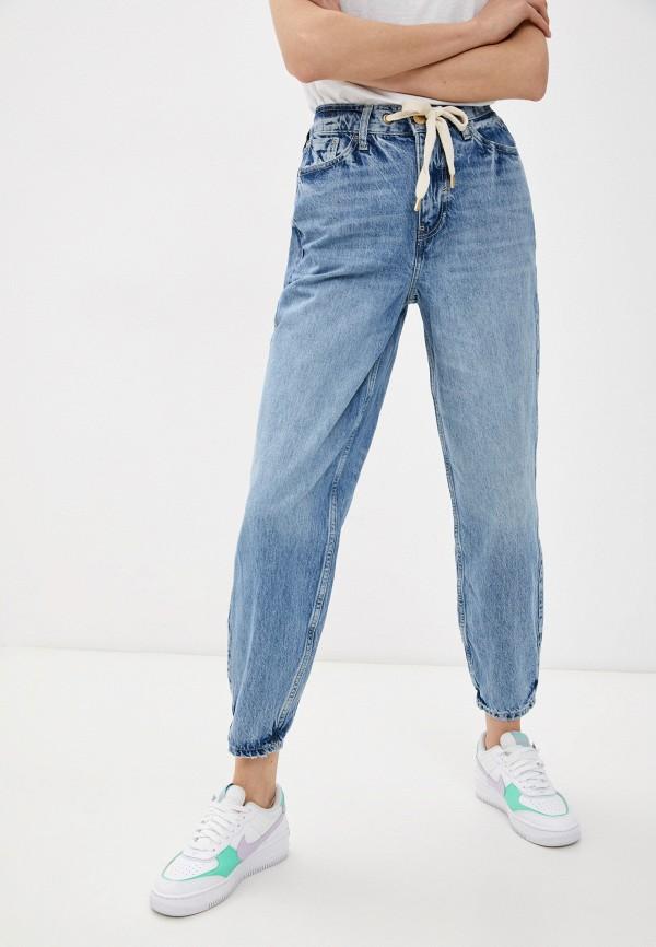 женские джинсы бойфренд river island, синие