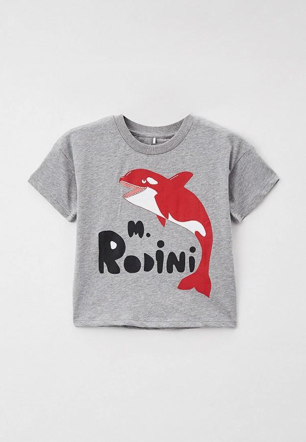 Футболка для мальчика Mini Rodini 21620106