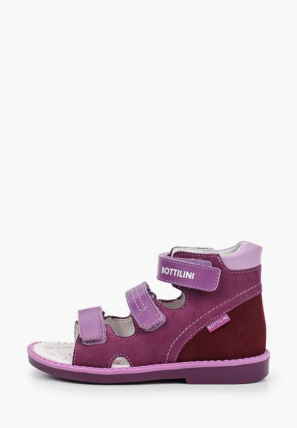 сандалии bottilini для девочки, фиолетовые